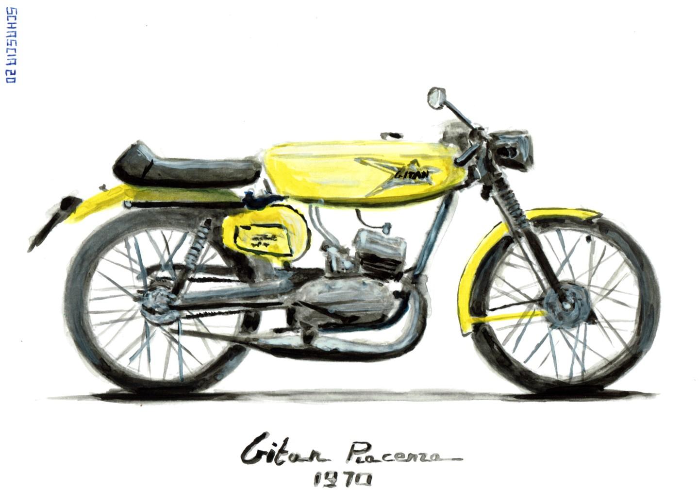 Schascia - Gitan Grillo Sport 50 cc.
