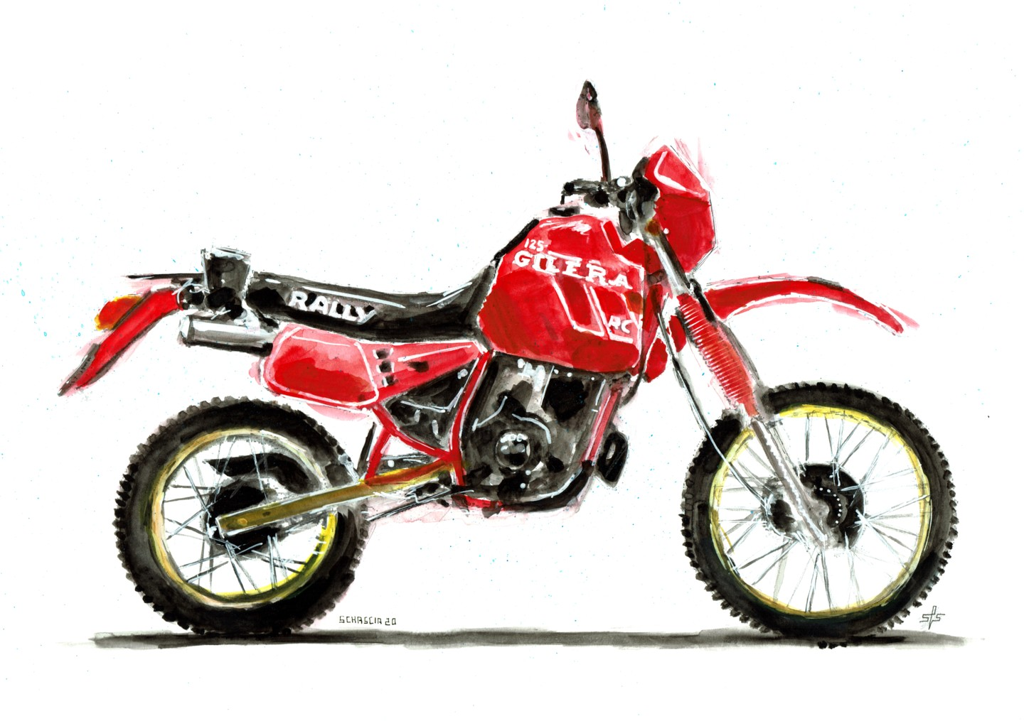 Schascia - Gilera RC 125 Rally