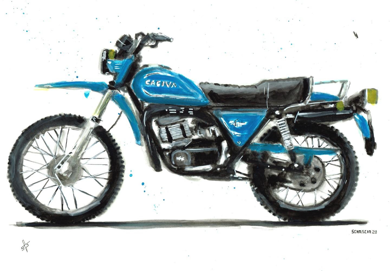 Schascia - Cagiva SX 350
