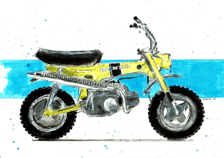 Schascia - Honda CT 70