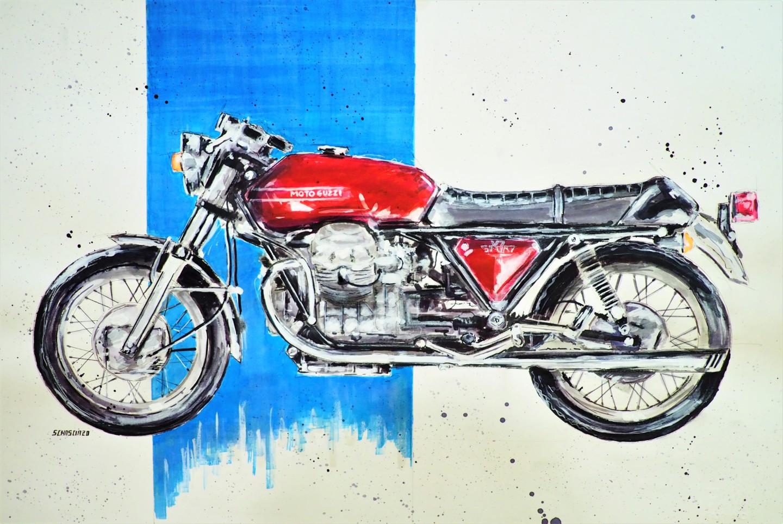 Schascia - Moto Guzzi V7 Sport 1972-74 (Telaio nero)