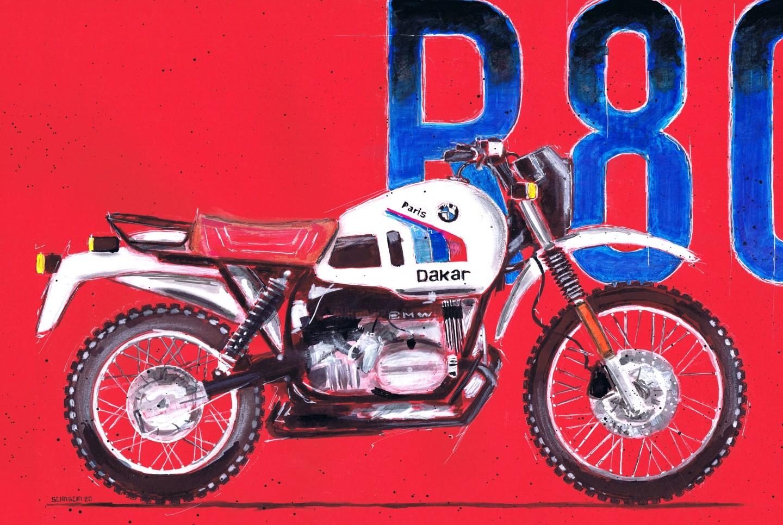 Schascia - BMW R80 G/S Paris Dakar