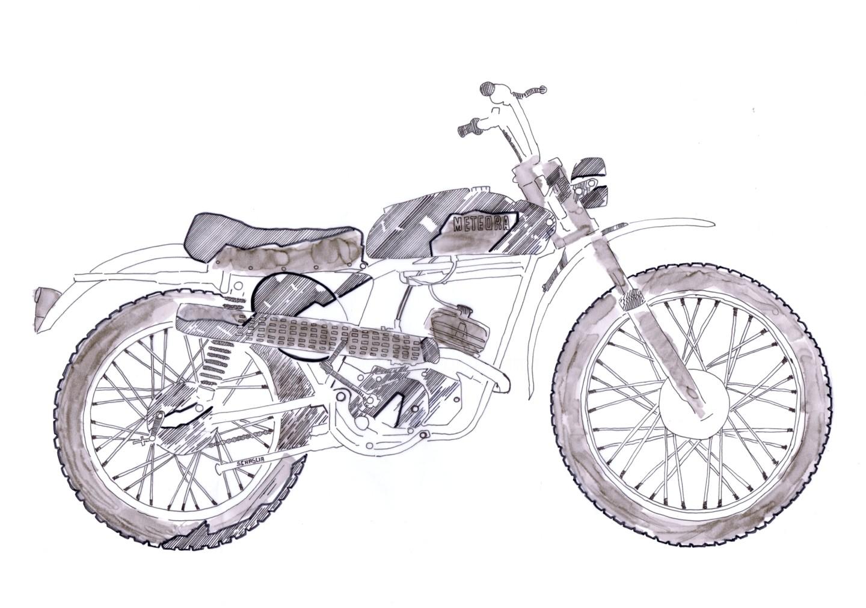 Schascia - Moto Meteora 50 cc 1972